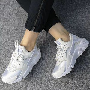 Nike Huarache Run Ultra Triple White